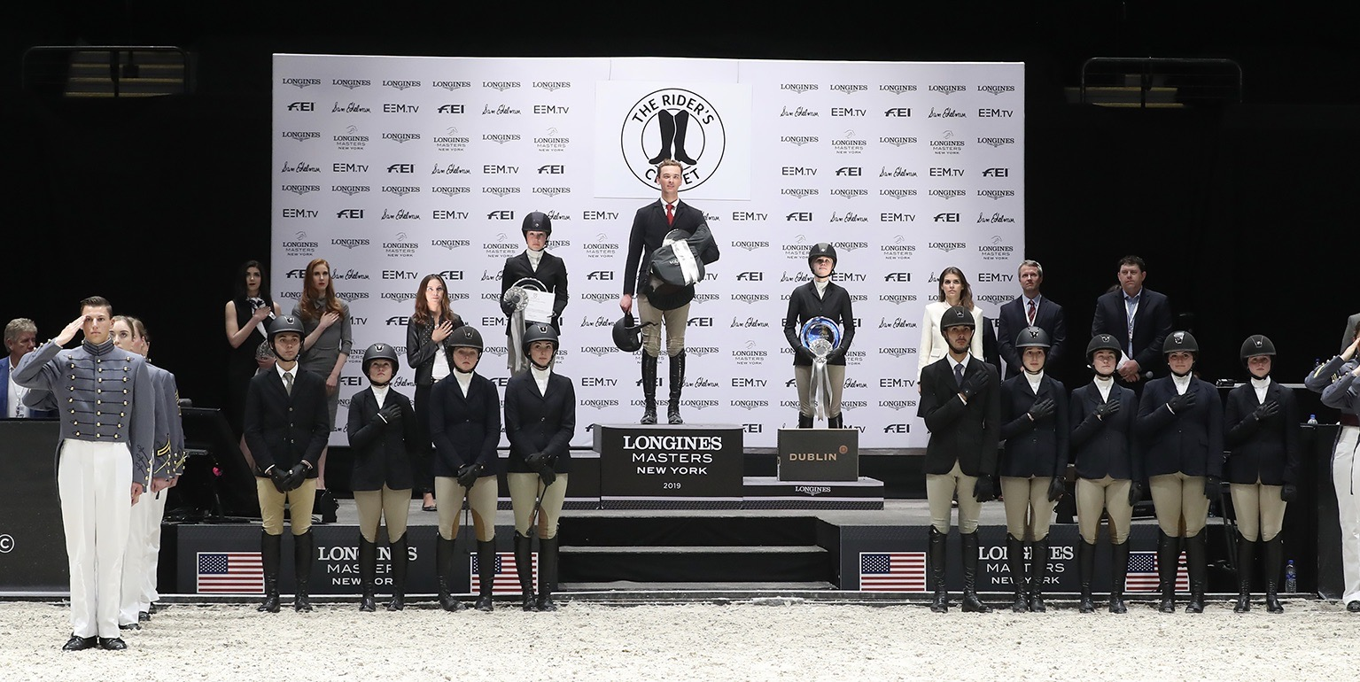 IHSA Athletes Shine at Longines Masters New York